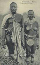 afr002291 - Daressalam - Natives (Tanganyika Territory) African Nude Nudes Postcard Post Card