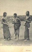 afr002295 - Angola, Ngola Tribe African Nude Nudes Postcard Post Card