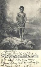 afr002296 - a Nubian Boy African Nude Nudes Postcard Post Card