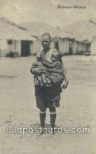 afr002298 - Mdumma Woman African Nude Nudes Postcard Post Card
