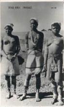 afr002300 - Xosa Girls Transkei African Nude Nudes Postcard Post Card