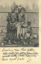 afr002302 - A shangaan Family African Nude Nudes Postcard Post Card