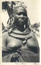 afr002305 - East Africa African Nude Nudes Postcard Post Card