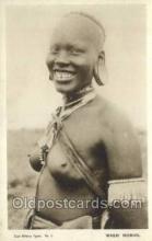 afr002306 - Masai Woman African Nude Nudes Postcard Post Card