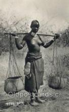 afr002313 - Tchad African Nude Nudes Postcard Post Card
