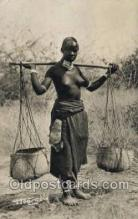 afr002314 - Tchad African Nude Nudes Postcard Post Card