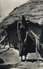 afr002315 - Fort Archambault African Nude Nudes Postcard Post Card