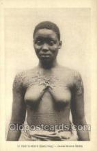 afr002320 - Porto Novo African Nude Nudes Postcard Post Card