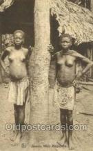afr002321 - Congo Belge African Nude Nudes Postcard Post Card