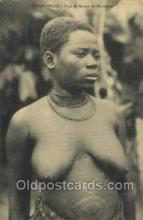 afr002325 - Congo Belge African Nude Nudes Postcard Post Card