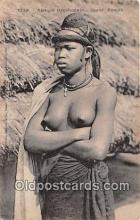 afr002330 - Afrique Occidentale Jeune Foulah Postcard Post Card