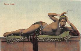 afr002344 - African Nude Postcard