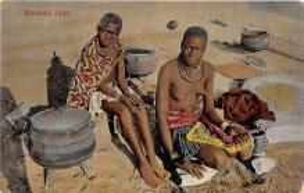 afr002349 - African Nude Postcard