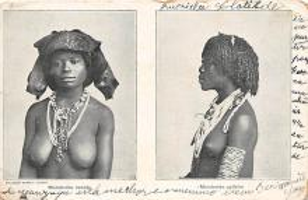 afr002350 - African Nude Postcard