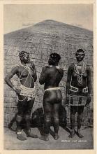 afr002353 - African Nude Postcard