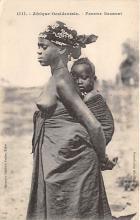 afr002356 - African Nude Postcard