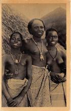 afr002364 - African Nude Postcard