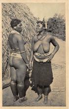 afr002371 - African Nude Postcard