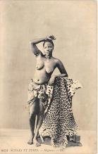 afr002372 - African Nude Postcard