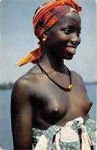 afr002374 - African Nude Postcard