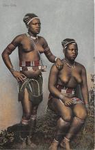 afr002375 - African Nude Postcard