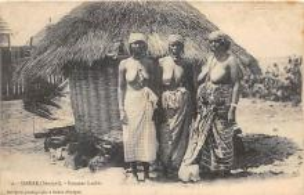 afr002379 - African Nude Postcard