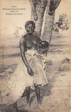 afr002380 - African Nude Postcard