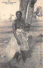 afr002381 - African Nude Postcard