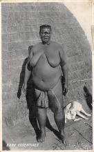afr002383 - African Nude Postcard