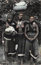 afr002384 - African Nude Postcard