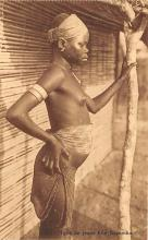 afr002386 - African Nude Postcard