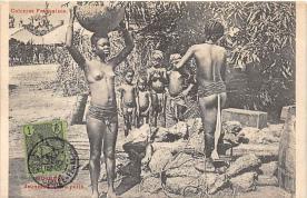 afr002389 - African Nude Postcard