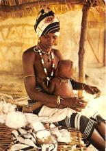 afr002392 - African Nude Postcard