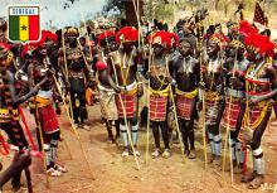 afr002393 - African Nude Postcard