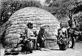 afr002395 - African Nude Postcard