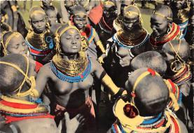 afr002396 - African Nude Postcard