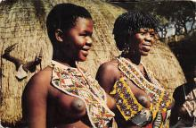 afr002397 - African Nude Postcard