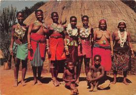 afr002399 - African Nude Postcard
