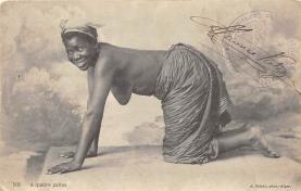 afr002402 - African Nude Postcard