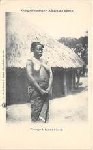afr002403 - Tatouages de Femme a Zande African Nude Postcard