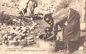 afr002404 - African Nude Postcard