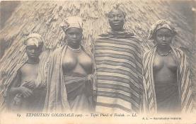 afr002408 - African Nude Postcard