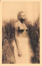 afr002413 - Jeune Femme, Young Woman African Nude Postcard
