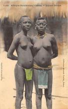 afr002422 - Jeunes Diolas African Nude Postcard