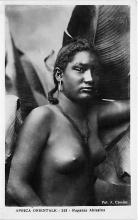 afr002428 - Ragazza Abissina African Nude Postcard