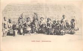 afr002429 - Johannesburg African Nude Postcard