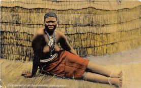 afr002433 - African Nude Postcard