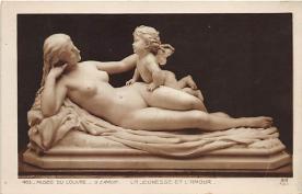 afr002437 - La Jeunesse et L'Amour African Nude Postcard