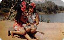 afr002444 - Indian women of the remote Ddarien country African Nude Postcard