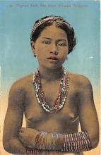 afr002446 - Phillipines African Nude Postcard